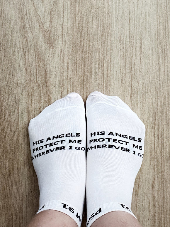 tHe Super Blessed Psalm 91 Ankle Socks