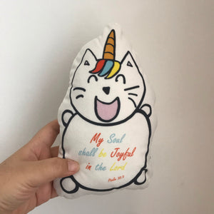 Jojo- The Super Blessed UniMaoMao mini cushion