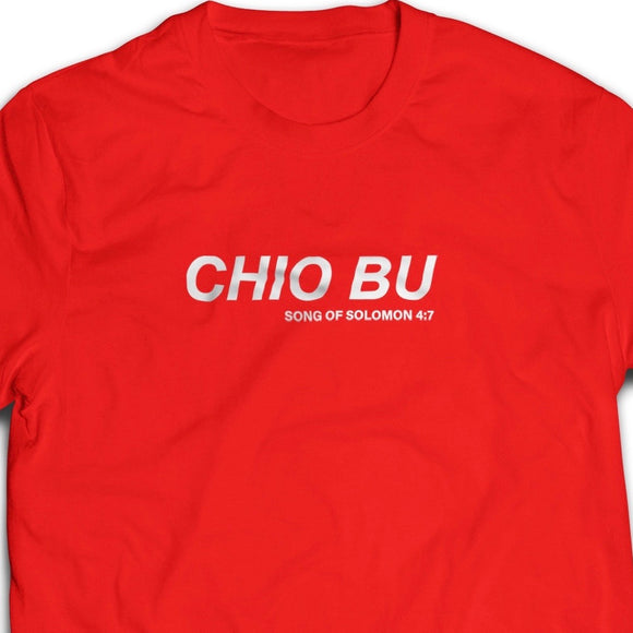 Chio Bu Tshirt unisex cutting (white/black/red) - I'm a Singaporean Christian Lah! Series