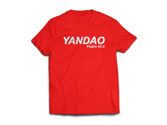 YANDAO Tshirt unisex cutting - I'm a Singaporean Christian Lah! Series
