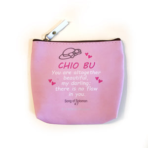 Chio Bu PU coin pouch - I'm A Singaporean Christian Lah! series
