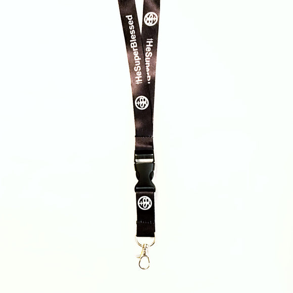 tHeSuperBlessed Lanyard Black color