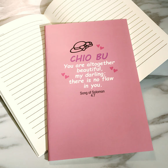 A5 Notebook -  Chio Bu (I'm a Singaporean Christian series)