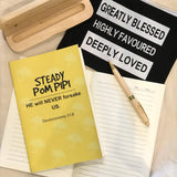 A5 Notebook - Steady Pom Pi Pi (I'm a Singaporean Christian series) 690