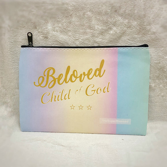 Beloved Child of God Zipped Pouch/ Pencil Case