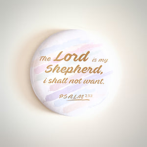 The Lord is My Shepherd Pocket Mirror