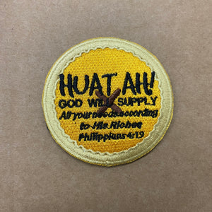HUAT AH God will supply Verse-It Velcro Morale Patch