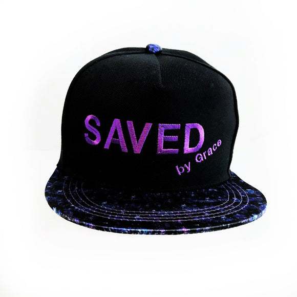Saved by Grace Cap with Universe visor