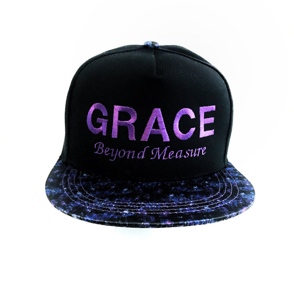 Grace Beyond Measure Cap with Universe visor