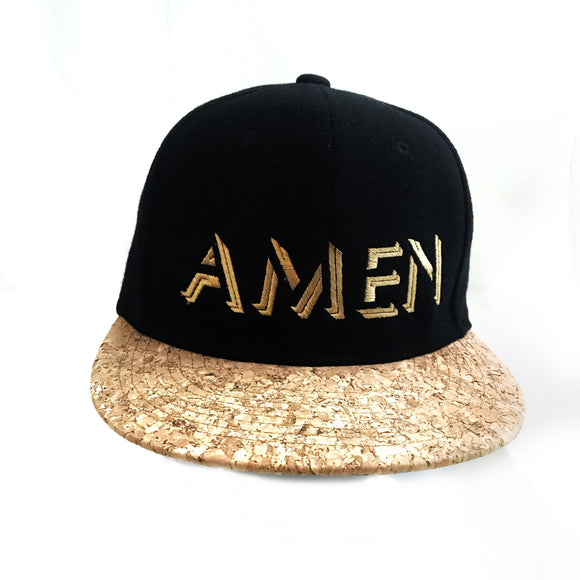 AMEN Black Cap with cork
