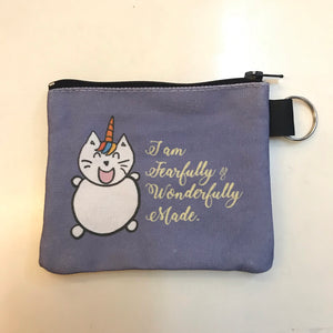 Coin Pouch UniMaoMao I am Fearfully and Wonderfully Made