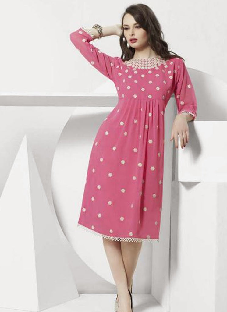 Passionable, Stunning and Gorgeous Georgette Fabric Kurti