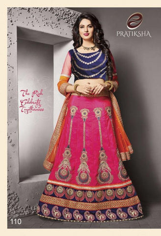 Catatonic Silk Designer Lehenga Choli