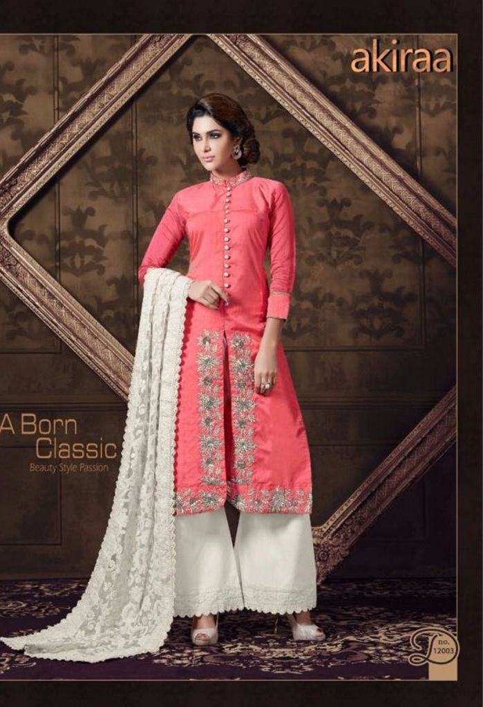Pink Designer Salwar Kameez Made With Georgette