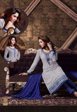 Blue Color Designer Salwar Kameez Made With Georgette