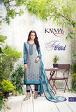 Grey Georgette Salwar Kameez With Printed Dupatta