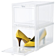 Two Perfect Souls-Container Store Shoe Drop Front