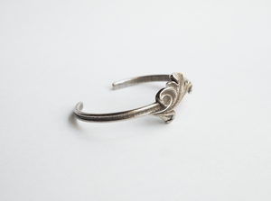 Jewelry - Acanthus Leaf Cuff Bangle - Two Perfect Souls