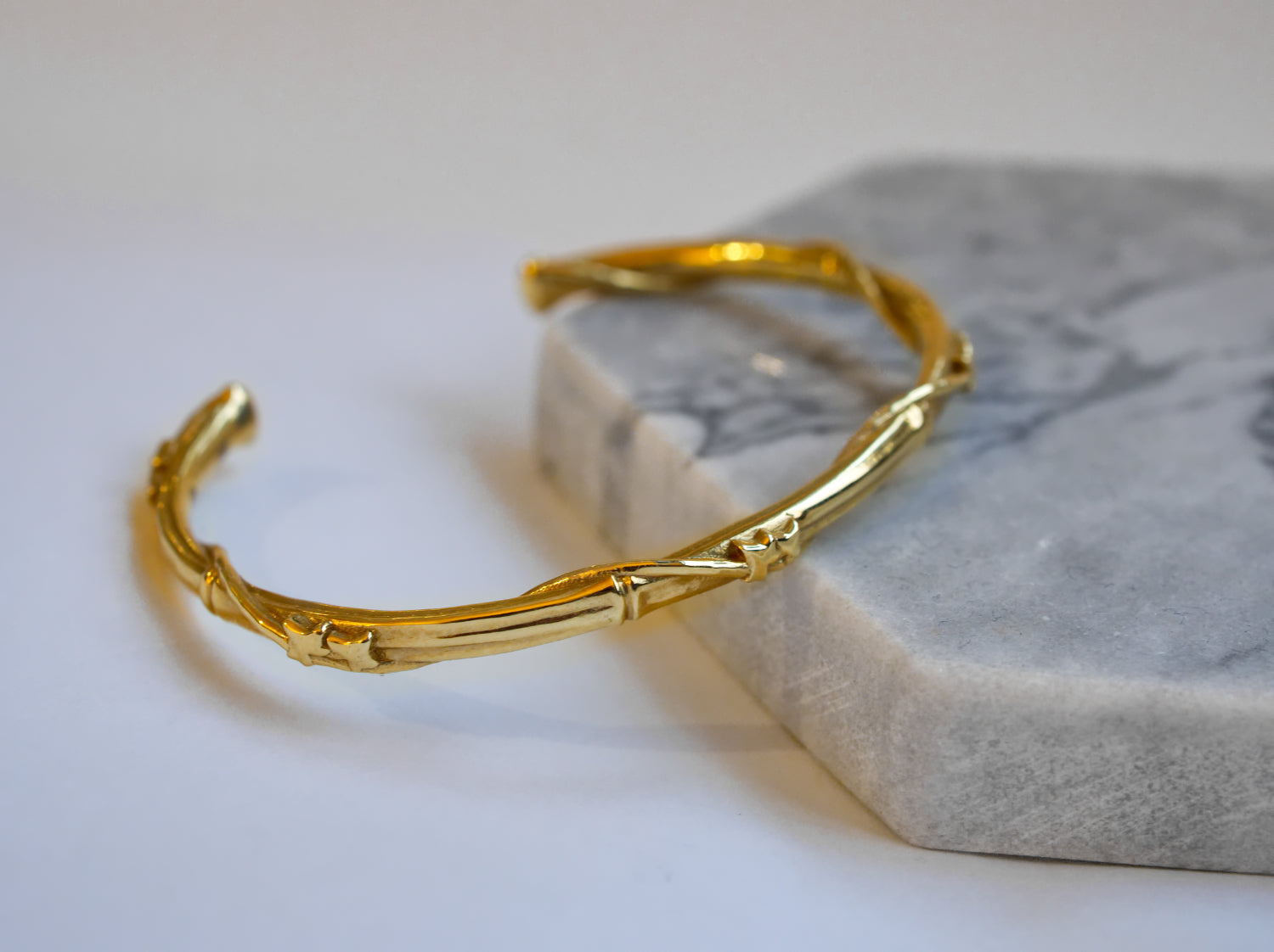 Jewelry - Ivy Wrap Bamboo Cuff Bracelet - Two Perfect Souls
