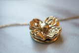Floral Spinner Pendant