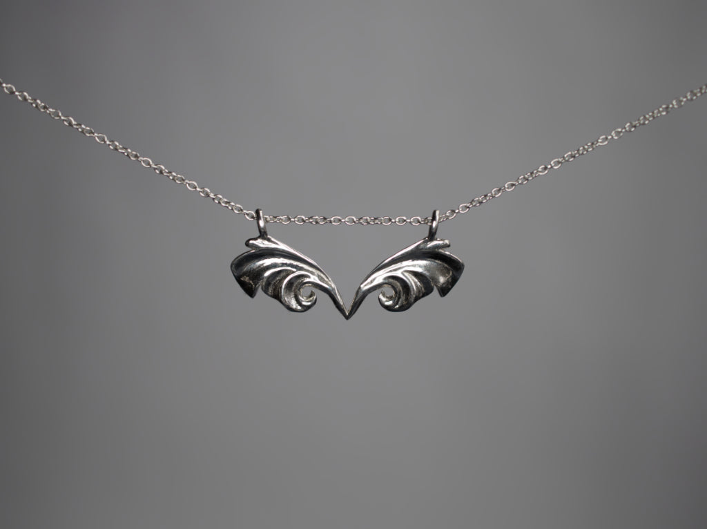 Jewelry - Flutter Necklace - Two Perfect Souls