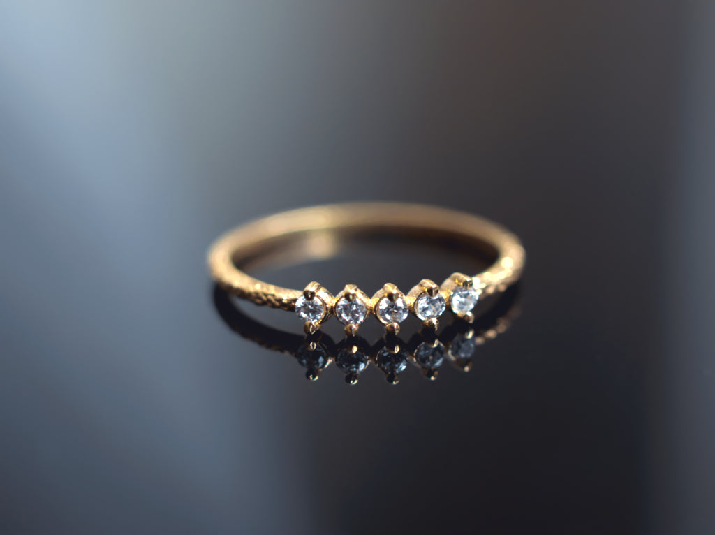 Jewelry - The Forged Diamond Ring - Two Perfect Souls