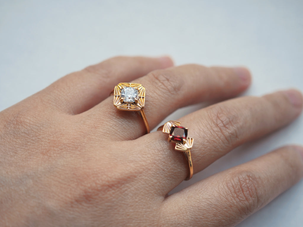 Jewelry - Gatsby Ring - Two Perfect Souls