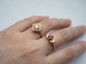 Jewelry - Petite Gatsby Ring - Two Perfect Souls