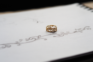 Jewelry - Delicate Ivy Ring - Two Perfect Souls