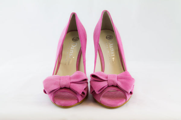 Peep Toe Pump - Laura - Two Perfect Souls