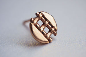 Jewelry - Pie Lattice Earring 4 - Two Perfect Souls