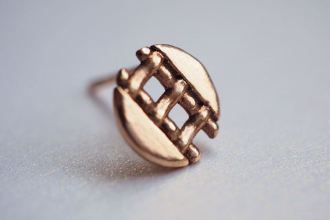 Pie Lattice Earring 4