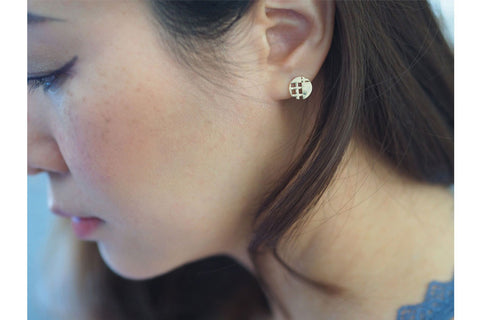 Pie Lattice Earring 5