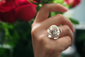 Jewelry - Blossoming Rose Ring - Two Perfect Souls