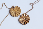 Jewelry - Seashell Fan Necklace - Two Perfect Souls