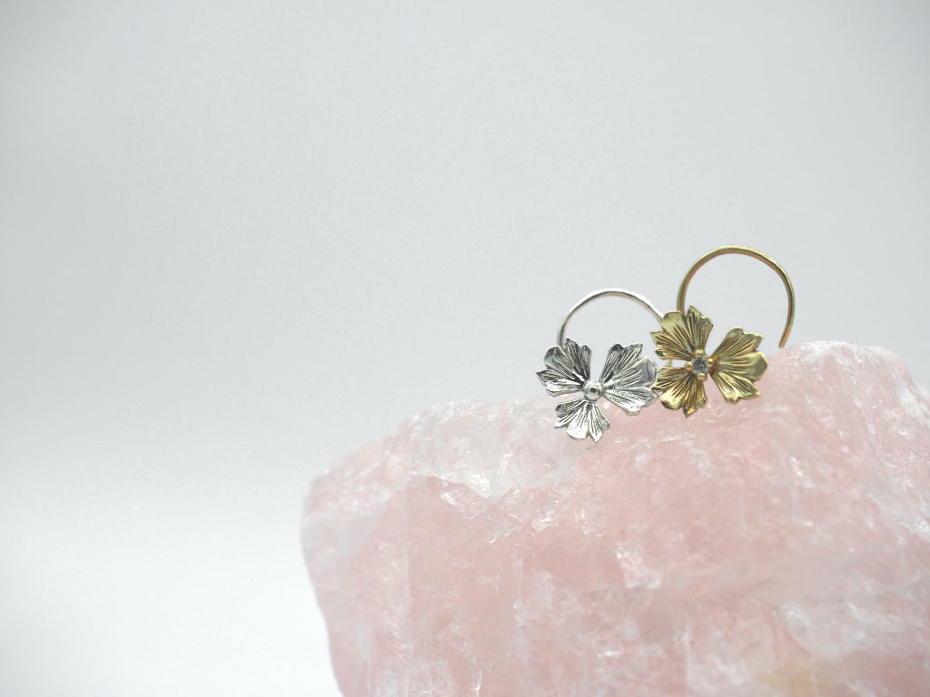 Jewelry - Trillium Backless Earring - Two Perfect Souls