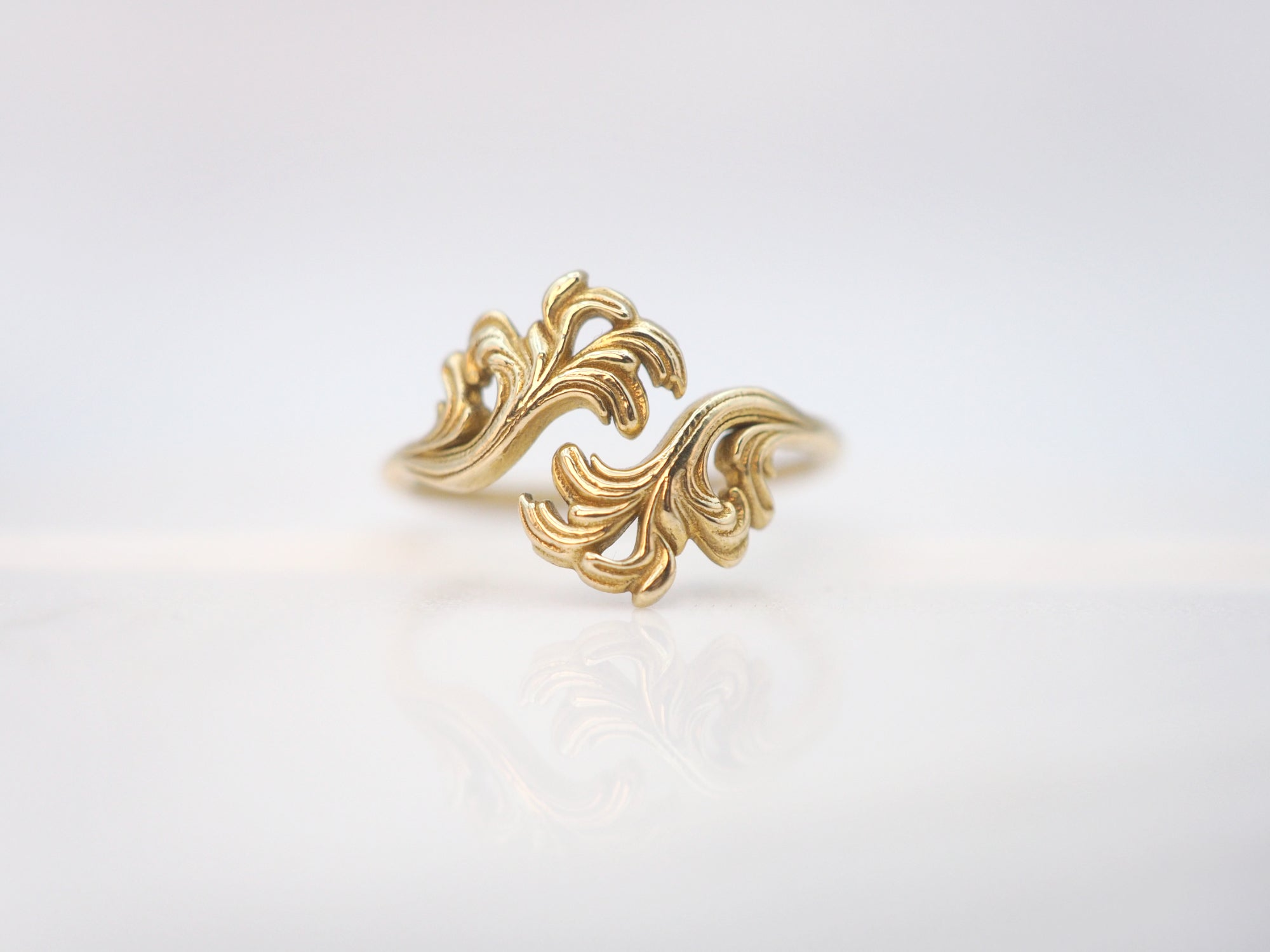 The Wisteria Statement Ring