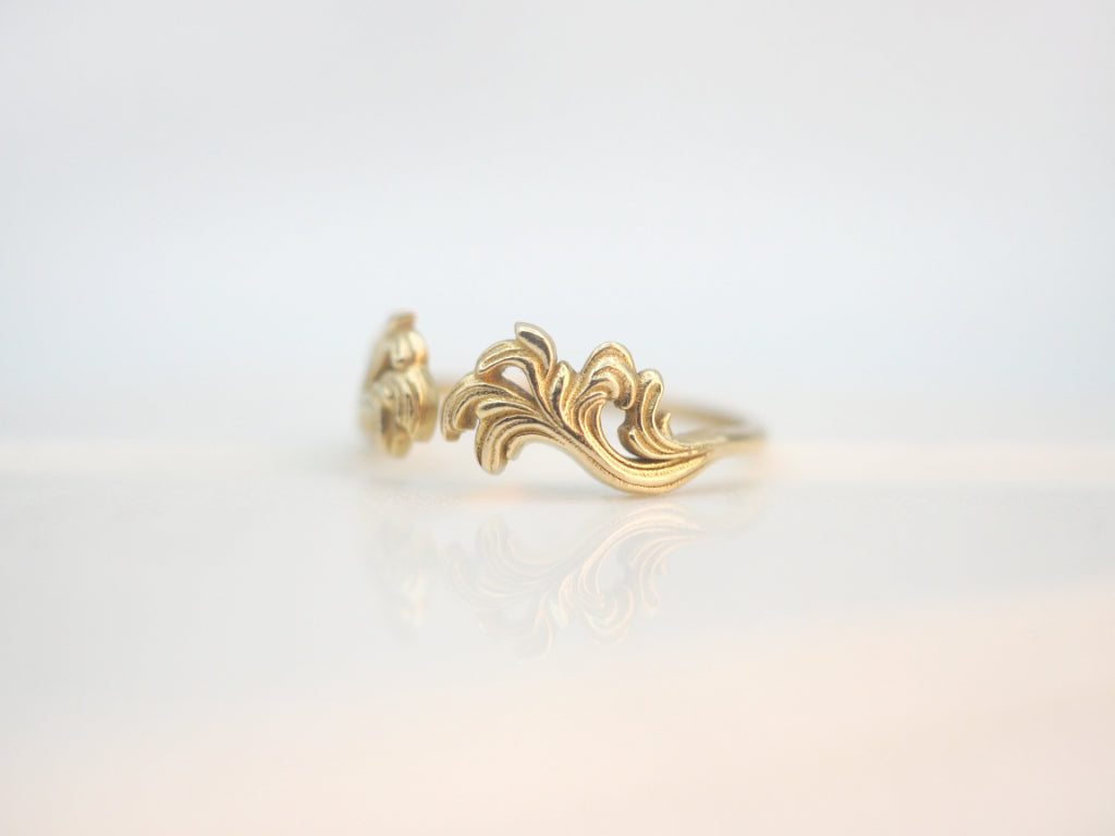 The Wisteria Stacking Ring