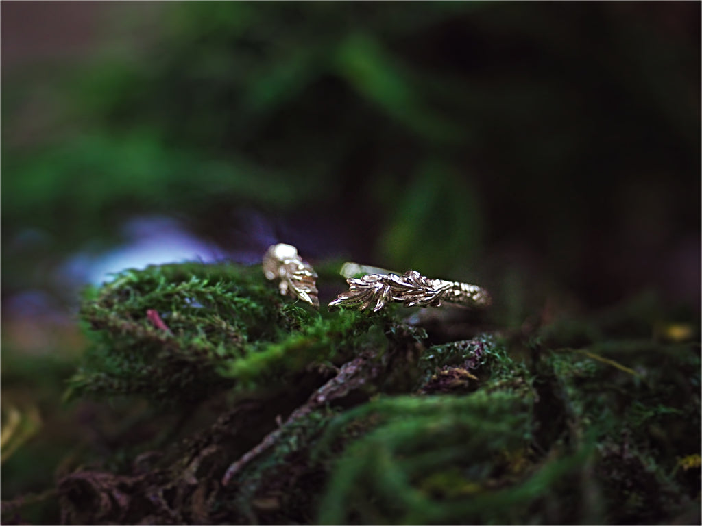 Woodland Wreath Crown Ring