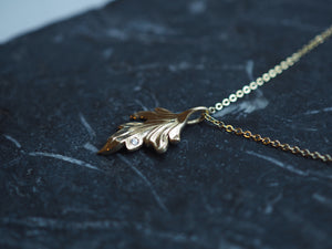 Jewelry - Woodland Wonder Leaf Charm - Two Perfect Souls