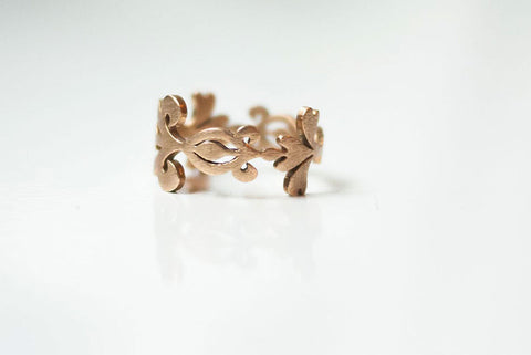 Scrolls & Swirls Ring