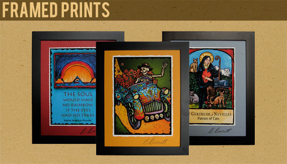Framed Prints by Kaleidoscope Designs