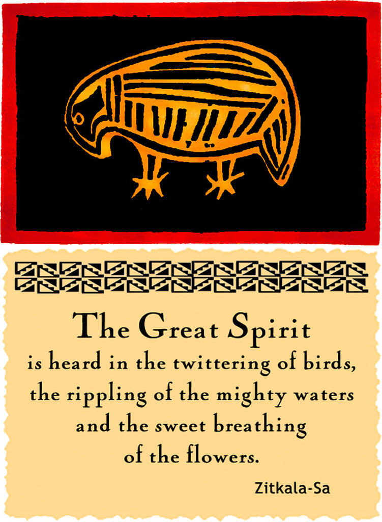The Great Spirit Is Heard - Native American #158