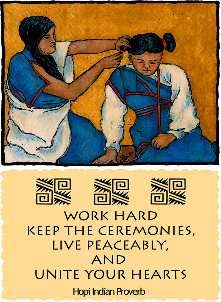 Work Hard - Native American #164