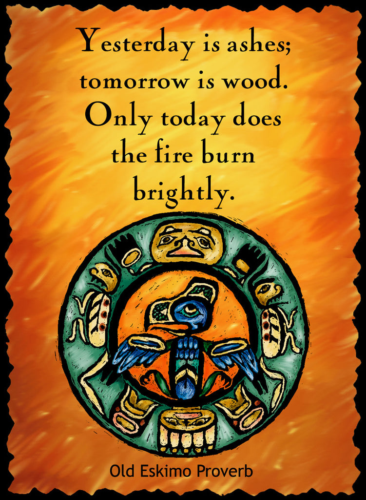 Yesterday Is Ashes - Native American #206