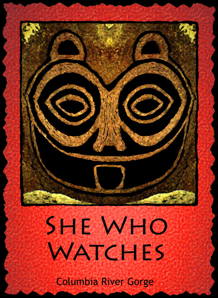 She Who Watches - Native American #216