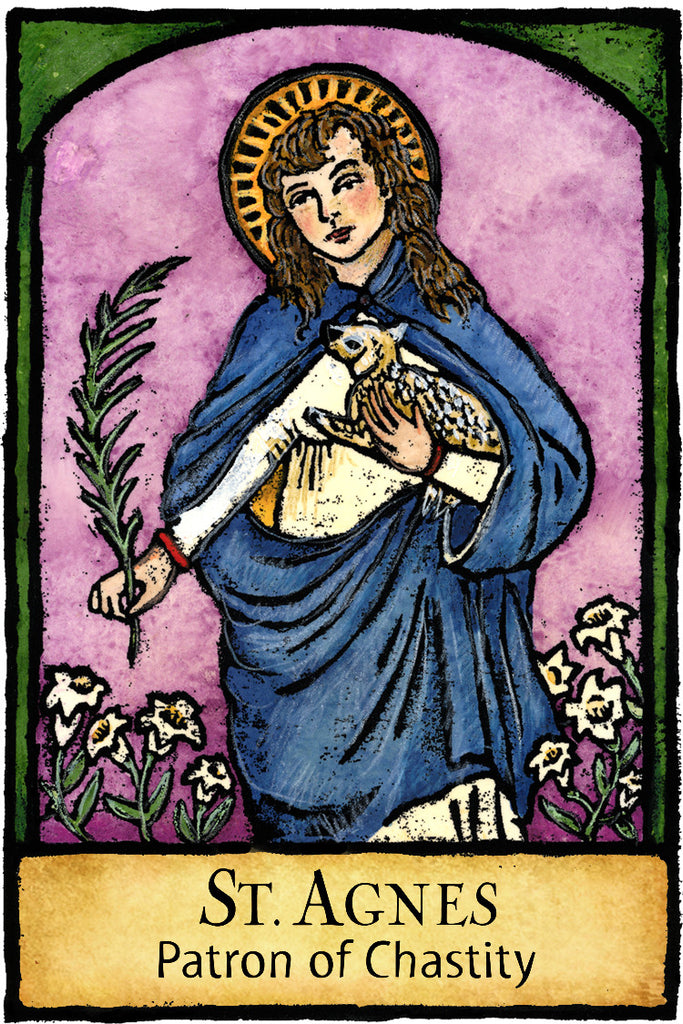 St. Agnes - Patron Saints #401