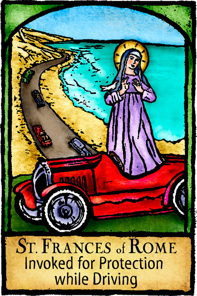 St. Frances of Rome - Patron Saints #430