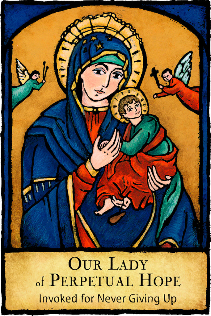 Our Lady of Perpetual Hope - Patron Saints #431
