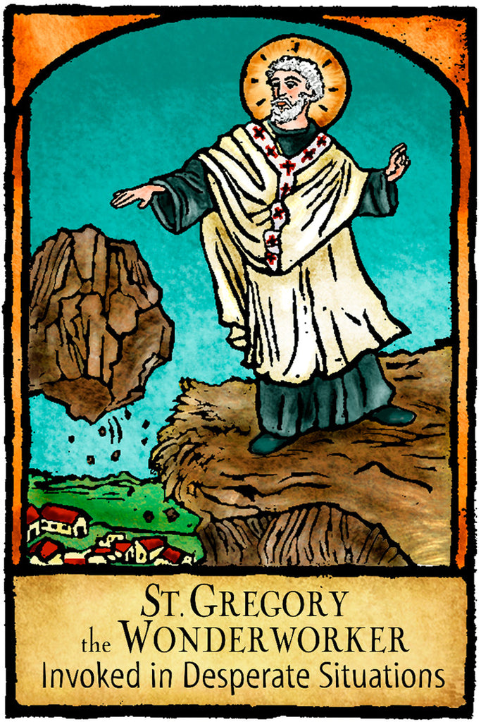St. Gregory the Wonder Worker - Patron Saints #434